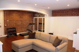 finished basement in Providence, RI