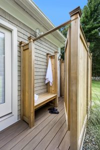 outdoor shower addition east greenwich ri