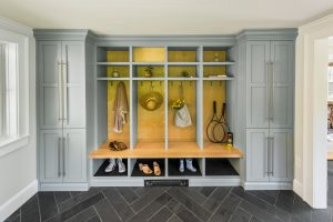 custom mudroom cubbies rhode island