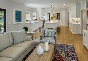 family room remodel in East Greenwich, RI