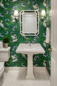 powder room renovation in east greenwich rhode island