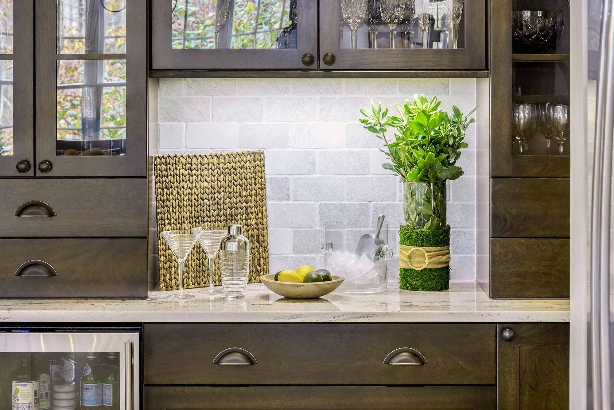 Duke Kitchen Counter & Cabinets