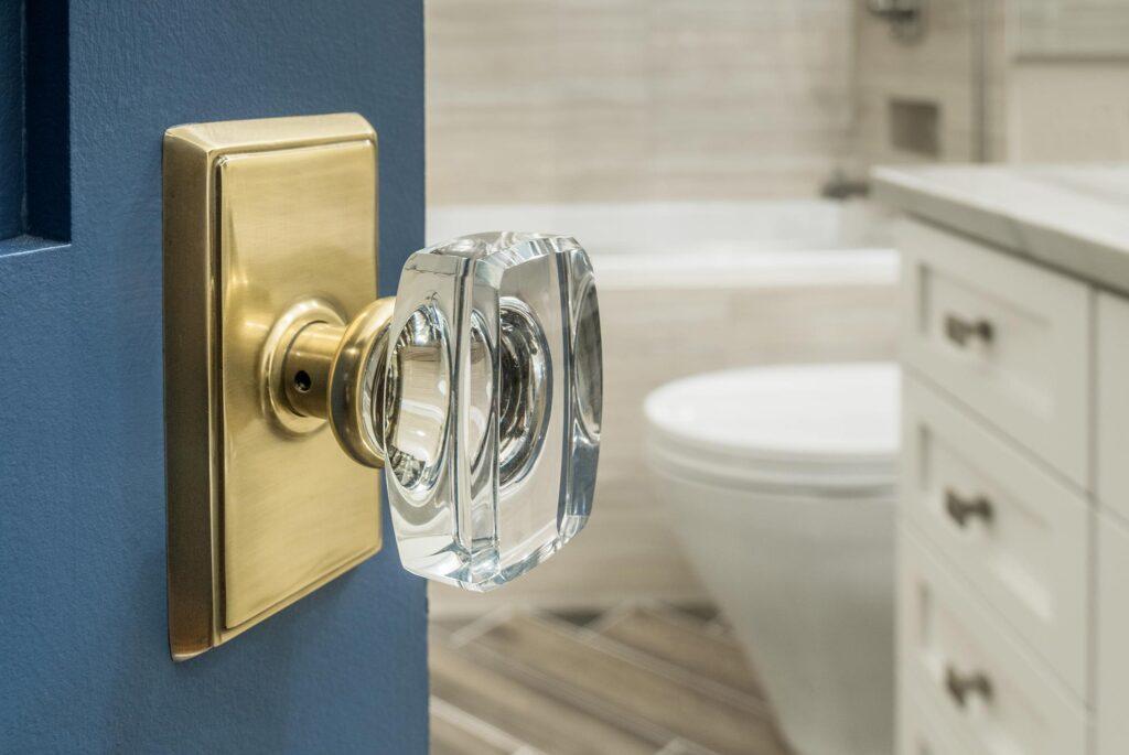 Bautista Bathroom Door