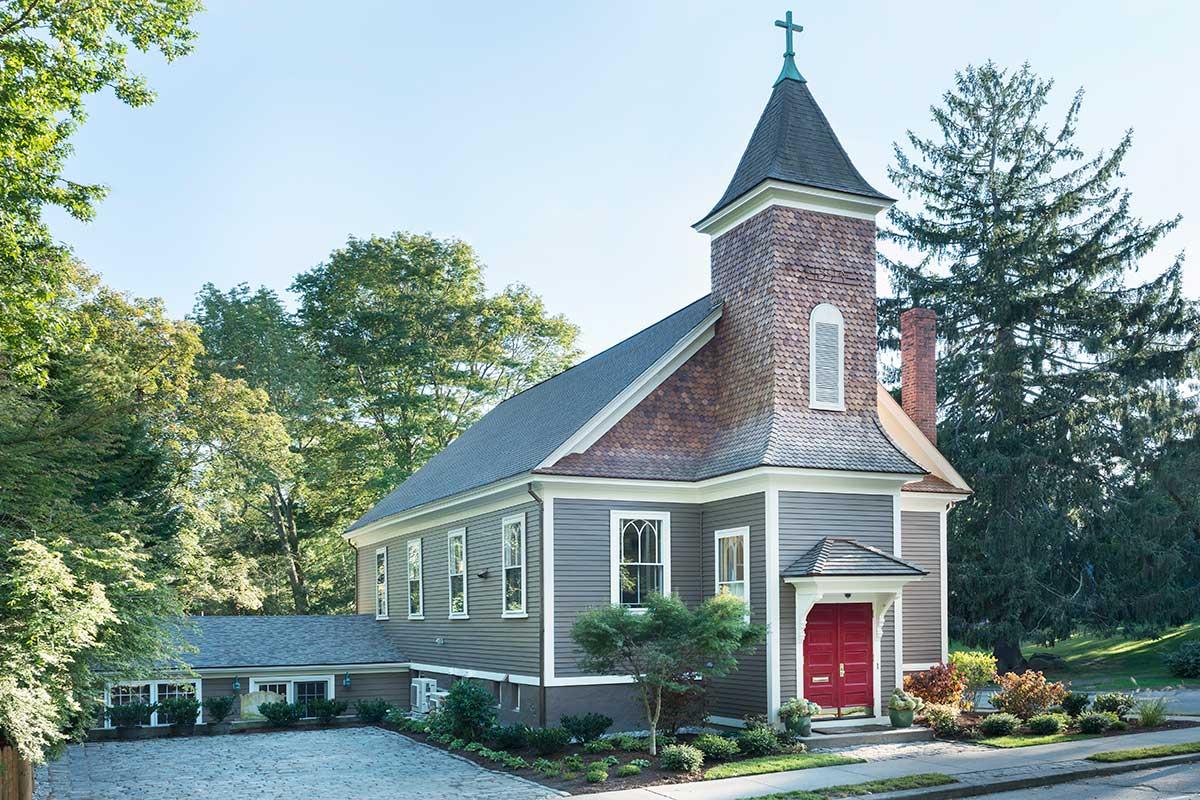 Church Angled View