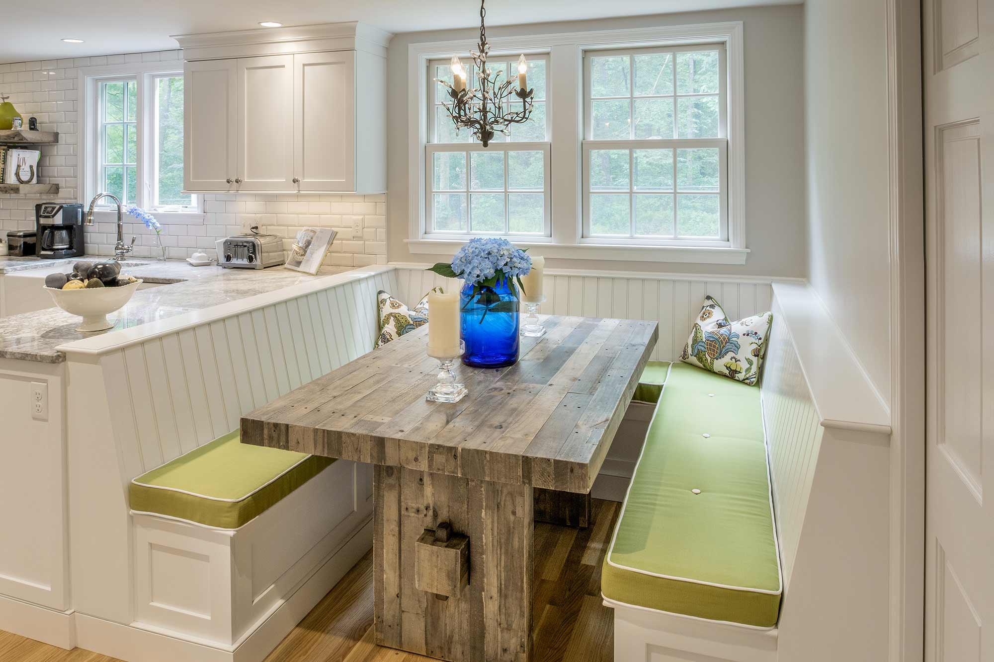 Dover Remodel Kitchen Bench