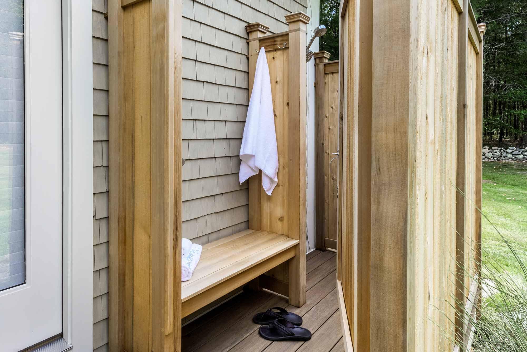 Duke Outdoor Shower Door