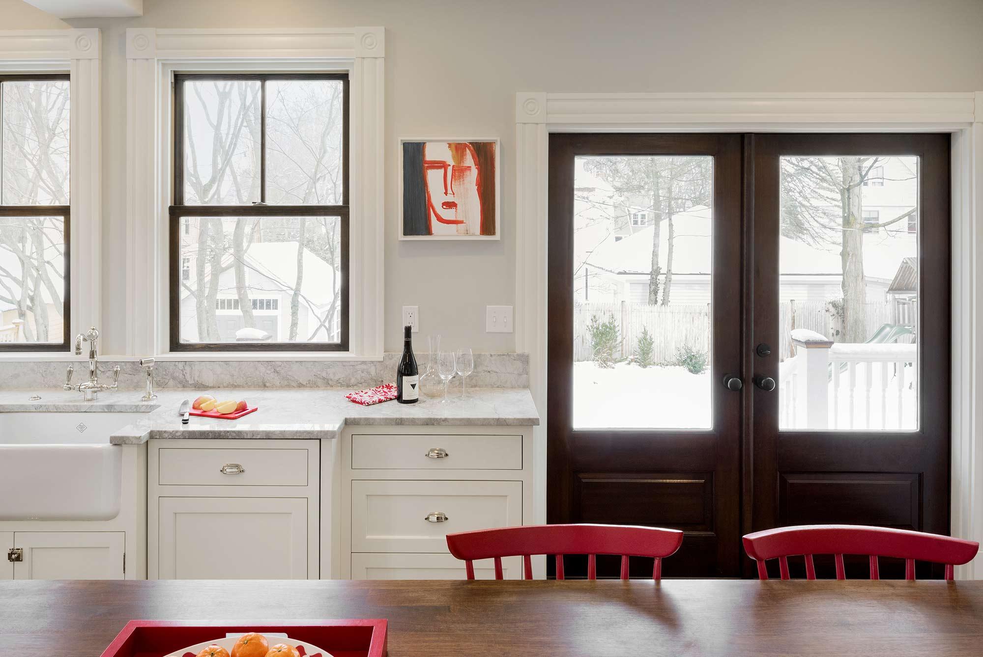 Mermagen Kitchen Remodel Table Set & Back Door
