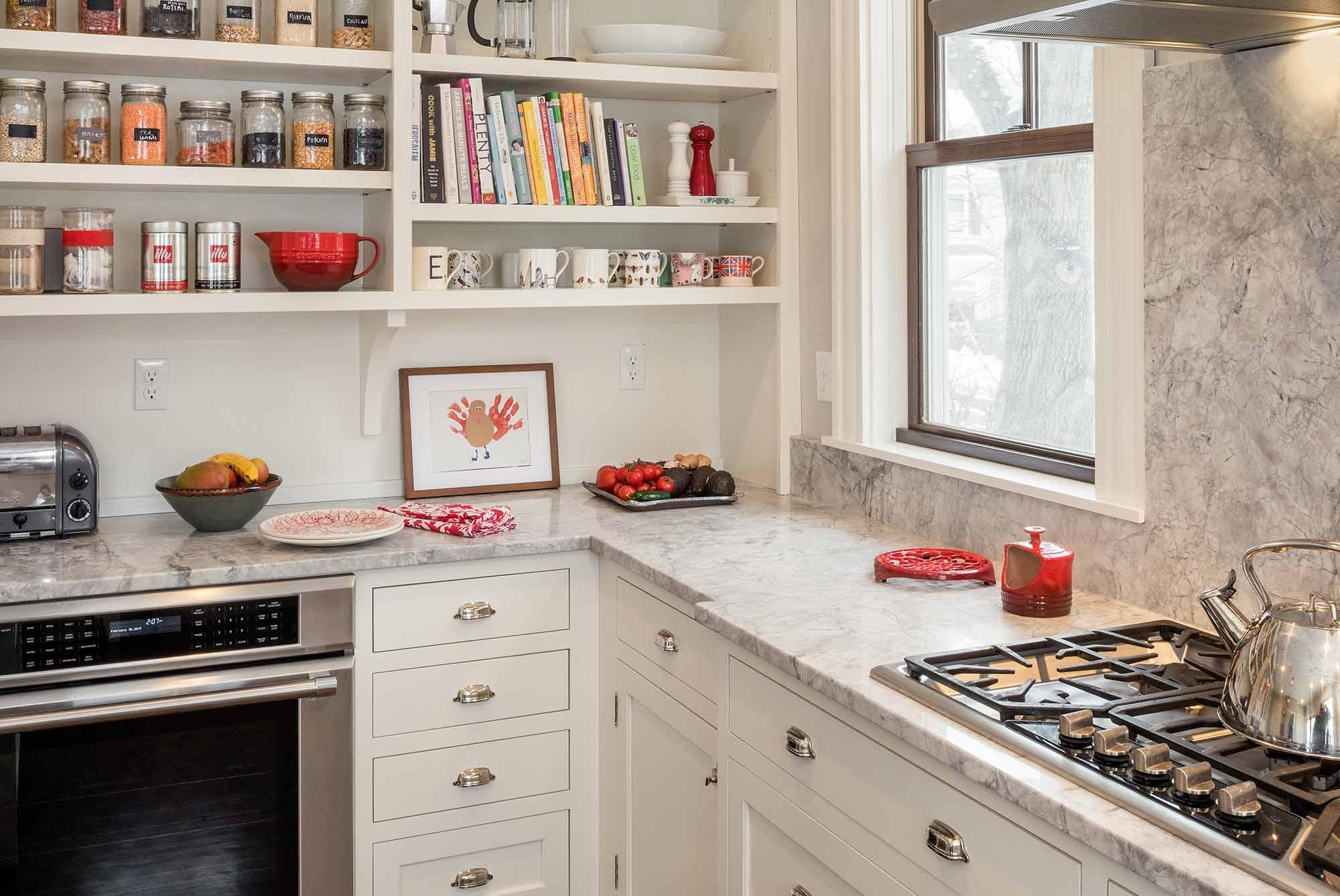 Mermagen Kitchen Remodel Bookcase