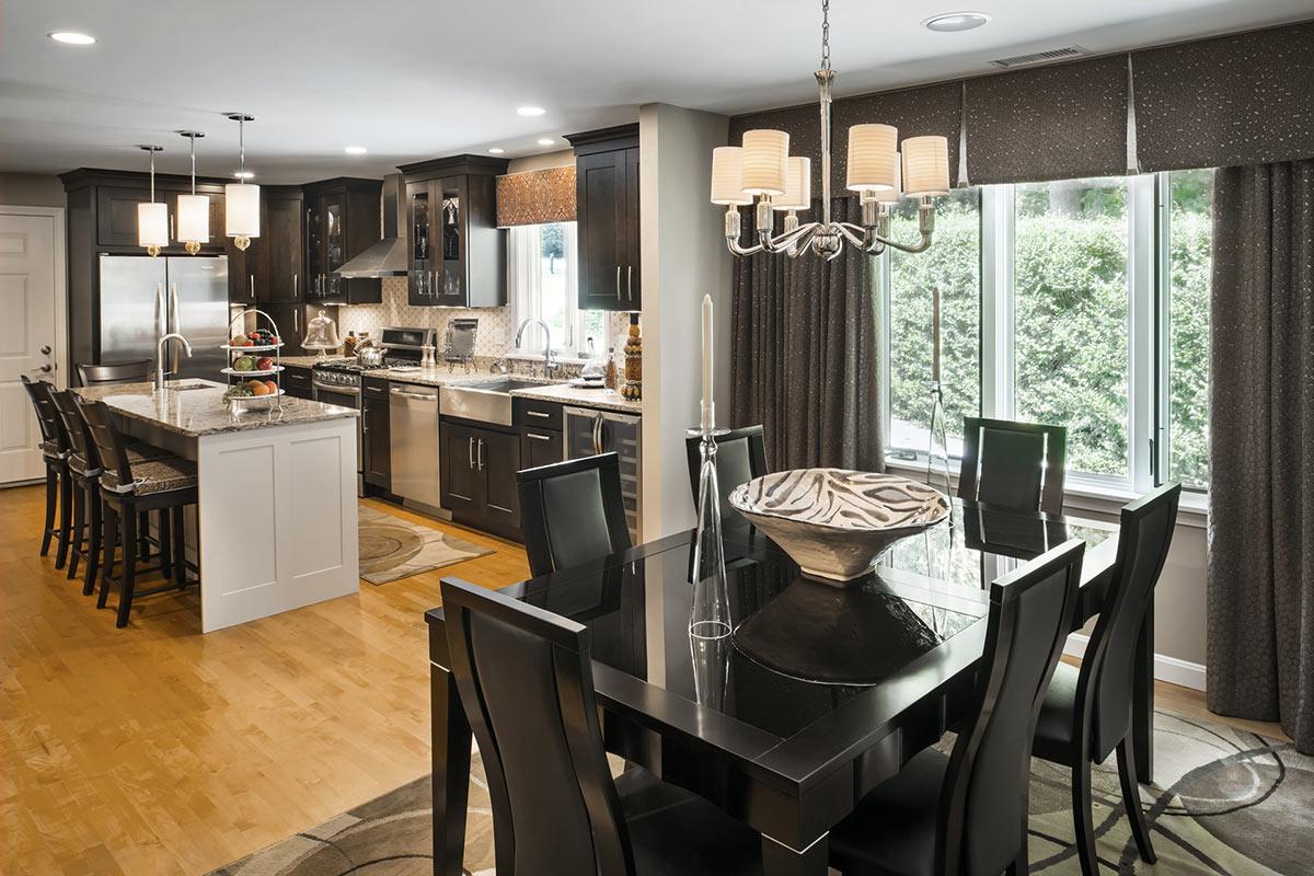 Newport Condo Renovation Kitchen Table Set