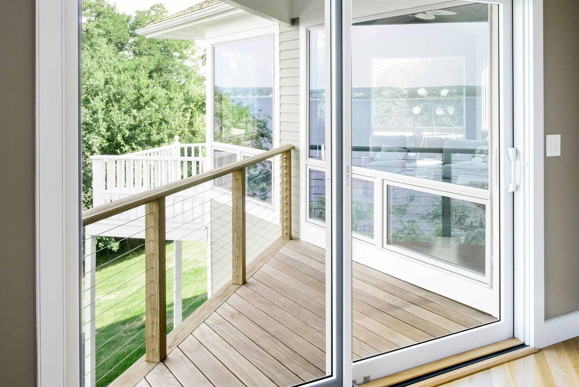 Portsmouth Waterfront Sliding Glass Door