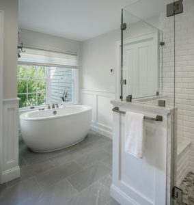 East Greenwich master bath remodel