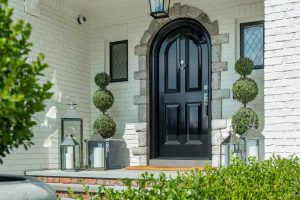 front entry renovation in Rhode Island