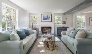 living room design rhode island