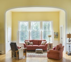 living room remodel in east greenwich rhode island