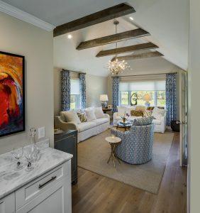 newport ri home renovation family room