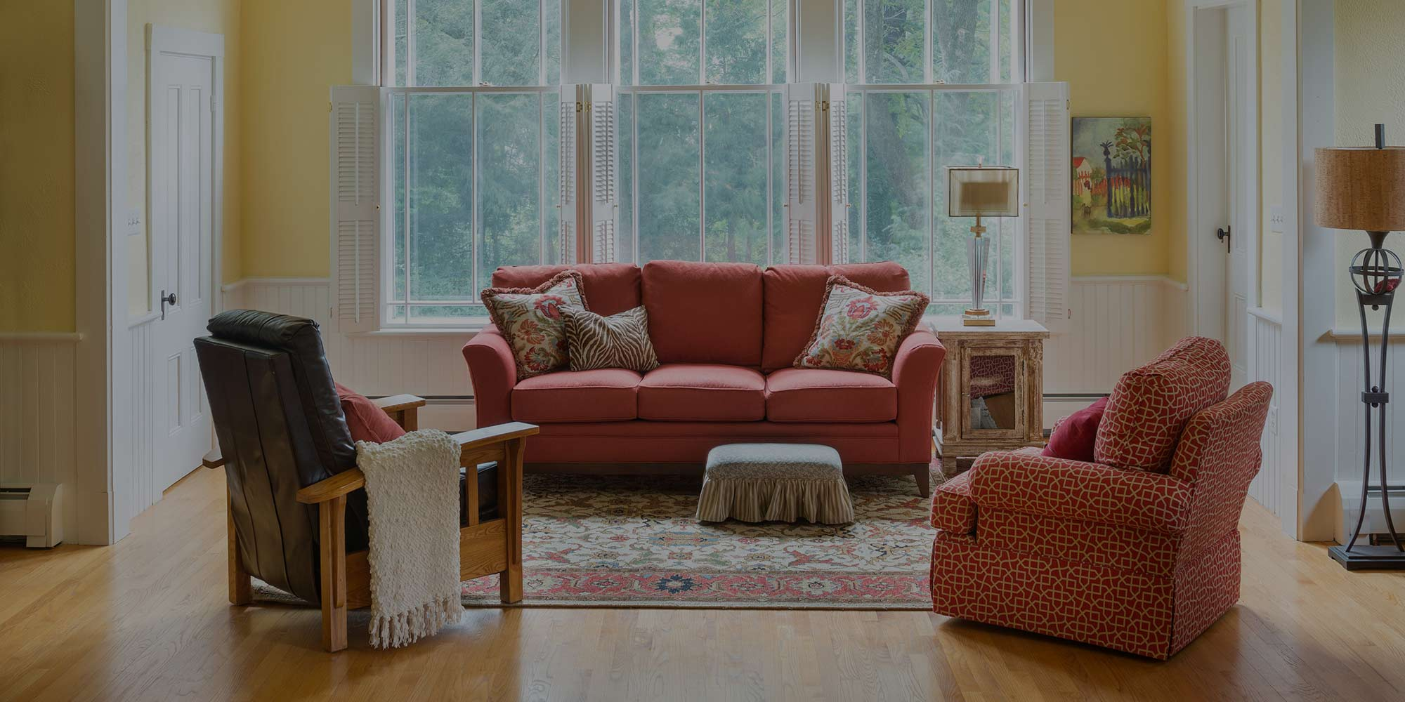 Family room remodel by Red House