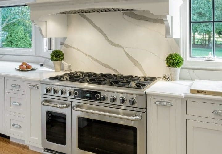 interior design trends 2020 kitchen slab backsplash