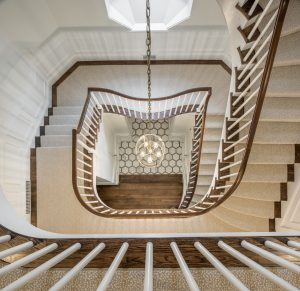 historic staircase renovation east side of Providence RI