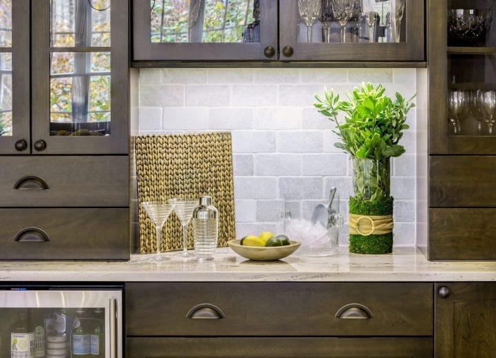 Interior design trends 2020 dark wood cabinets east greenwich RI