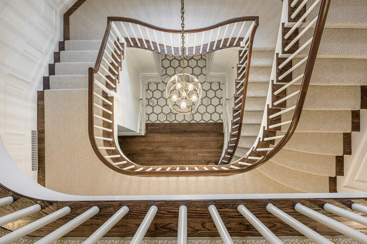 Red House Spiral Staircase Remodel