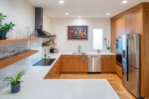 contemporary kitchen remodel east side of providence