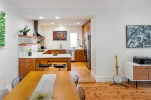 contemporary kitchen remodel east side of providence rhode island